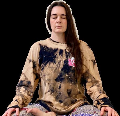 Meditation copywriter Johanna McWeeney