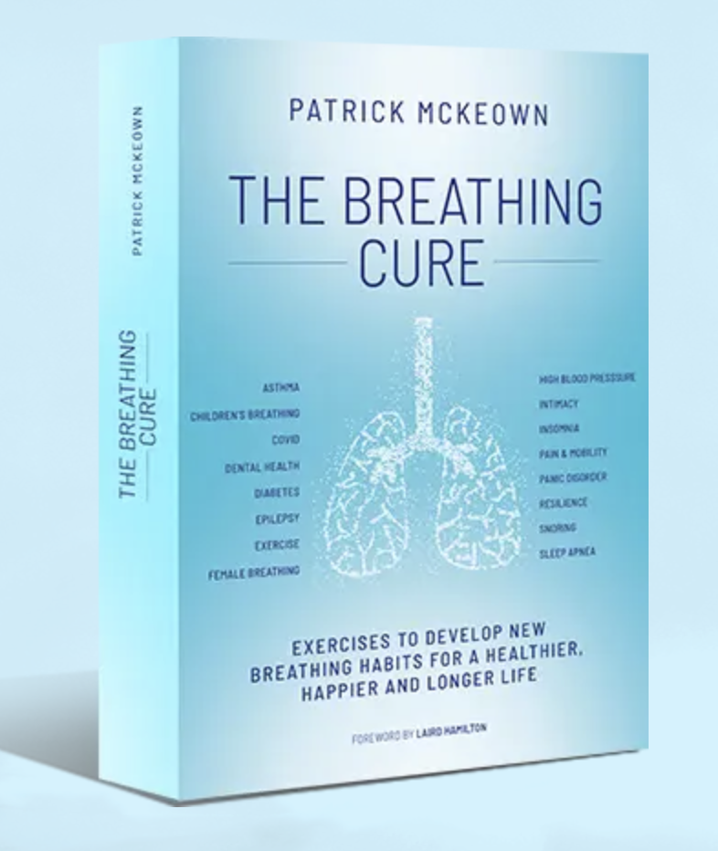 A book about breathwork that I worked on as a breathwork copywriter